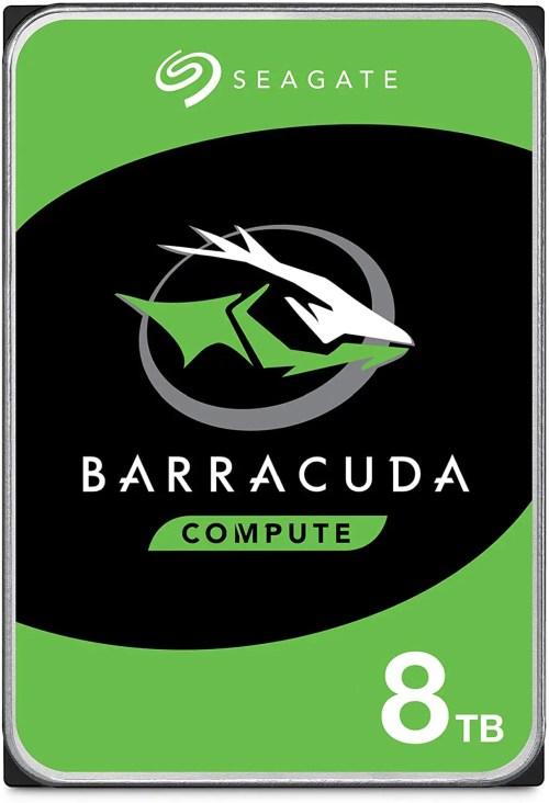 """Seagate BarraCuda 8 TB 3.5"""" 5400 RPM 256 MB SATA 6.0 GB/s Internal HDD (ST8000DM004)"""