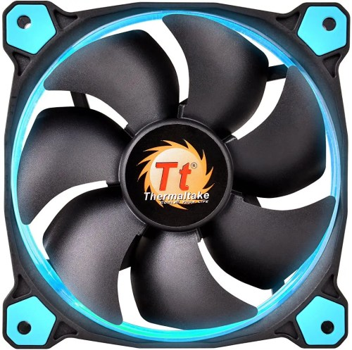 Thermaltake Riing 140 mm High Static Pressure LED Radiator Fan (Blue)