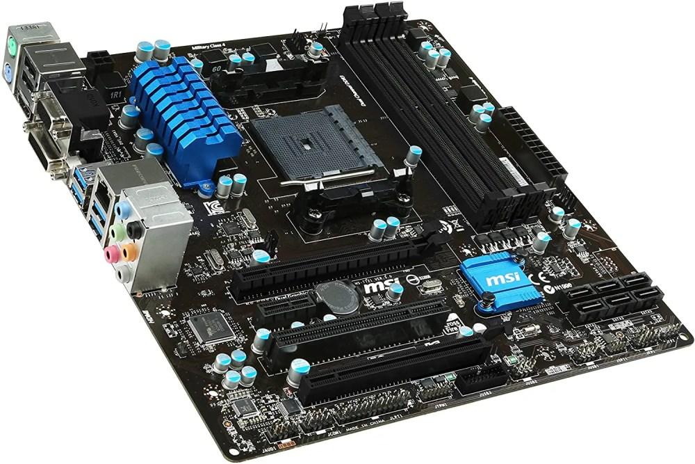 MSI A78M-E45 V2 FM2+ AMD A78 SATA 6 GB/s USB 3.0 HDMI Micro ATX AMD Motherboard