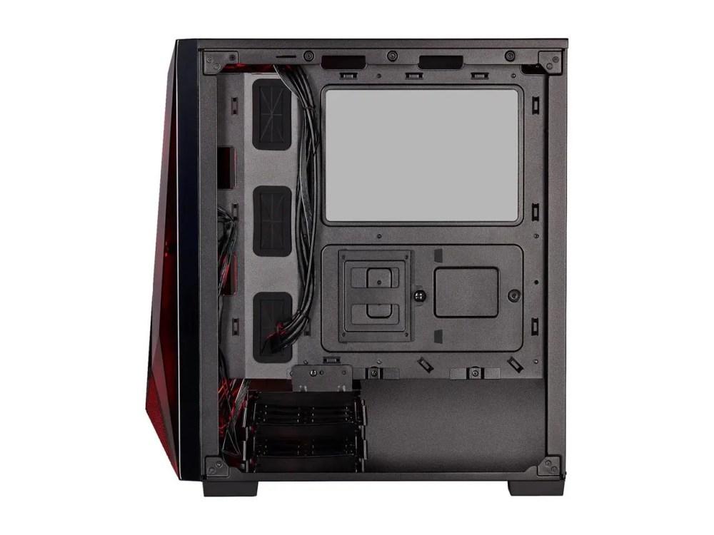 CORSAIR Carbide Series SPEC-DELTA RGB Tempered Glass Mid-Tower ATX Gaming Case (Black) (CC-9011166-WW)