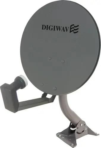 "Digiwave Offset Satellite Dish 18"""