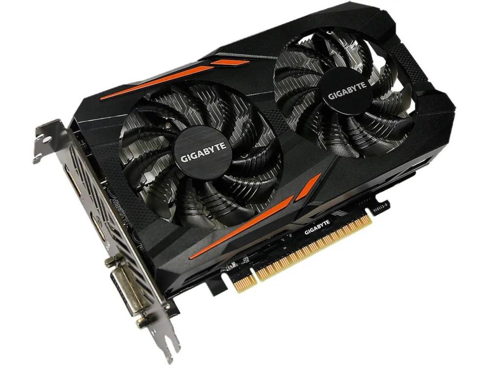 GIGABYTE GeForce GTX 1050 Ti OC Graphics Card (GV-N105TOC-4GD)
