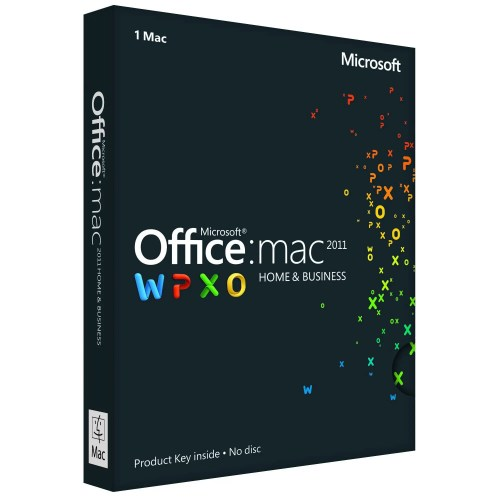 Microsoft Office 2011 Home & Business Product Key for Mac