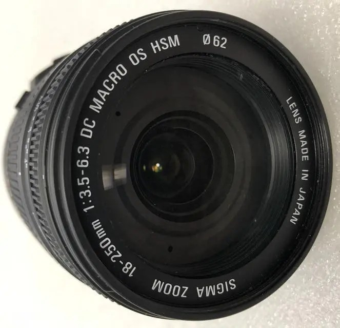 Sigma 18-250 mm F/3.5-6.3 DC MACRO OS HSM Lens