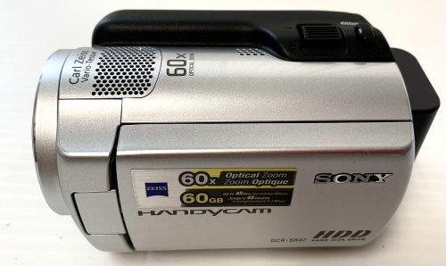 Sony DCR-SR47 60 GB HDD Handycam Camcorder (Silver)
