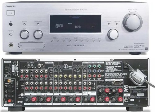 Sony STR-DA2000ES 7.1 Channel Home Theatre Receiver with Remote