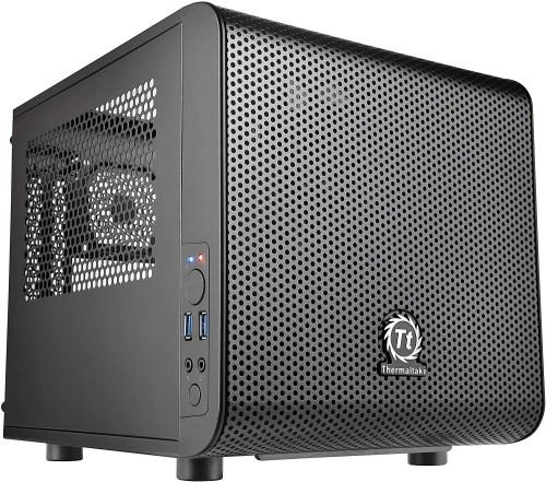 Thermaltake Core V1 Mini ITX Chassis/Computer Case (CA-1B8-00S1WN-00)