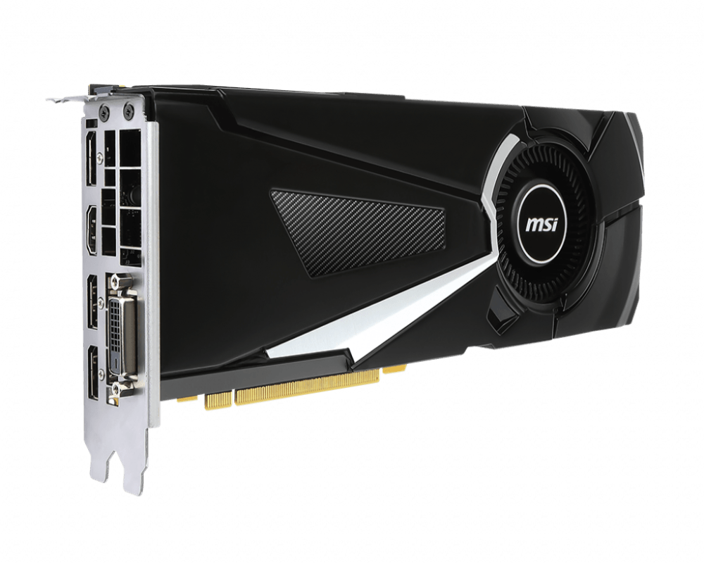 MSI GeForce GTX 1080 AERO 8G OC Graphics Card