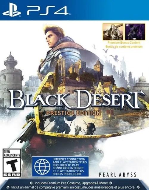 Black Desert (Prestige Edition) for PS4