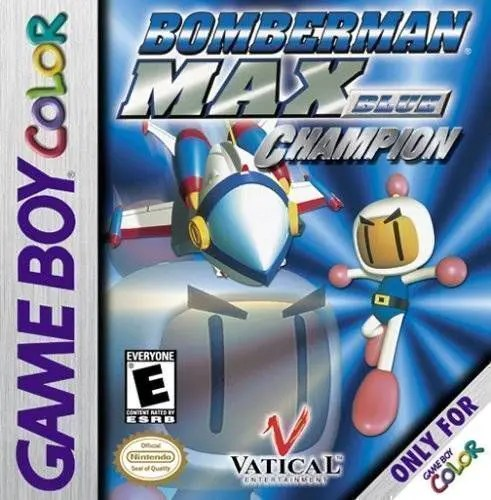Bomberman Max: Blue Champion for Nintendo Game Boy Color