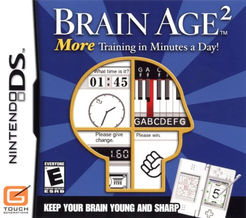 Brain Age 2: More Training in Minutes a Day! for Nintendo DS