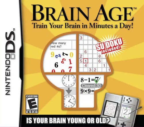 Brain Age: Train Your Brain in Minutes a Day! for Nintendo DS