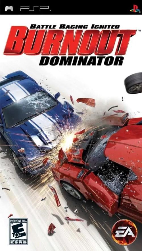 Burnout Dominator for PSP