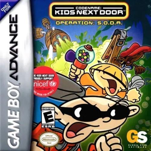 Codename: Kids Next Door - Operation: S.O.D.A. for Nintendo Game Boy Advance