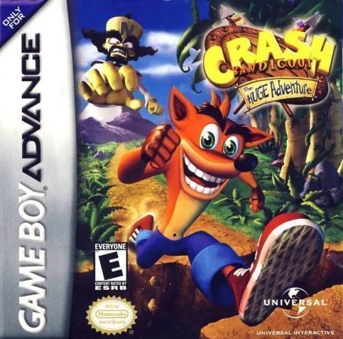 Crash Bandicoot: The Huge Adventure for Nintendo Game Boy Advance