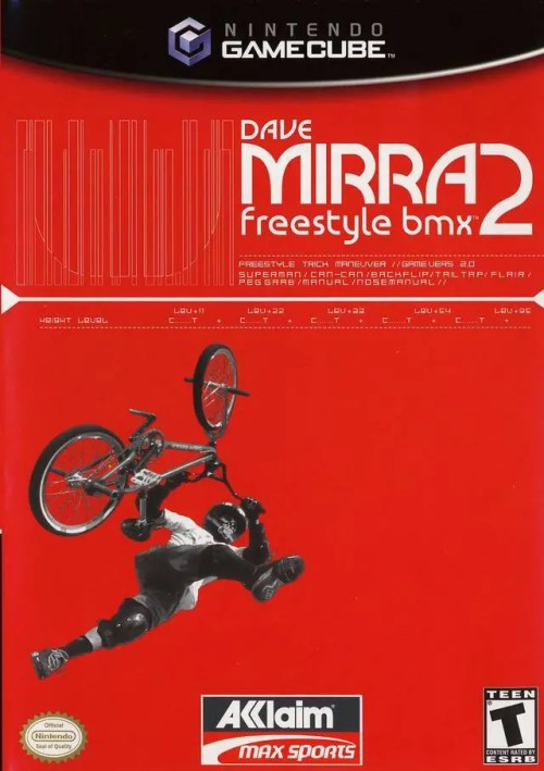 Dave Mirra Freestyle BMX 2 for Nintendo GameCube