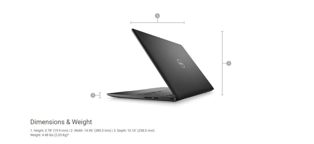 "Dell Inspiron 15 3583 15.6"" Touchscreen Laptop"