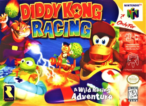 Diddy Kong Racing for Nintendo 64