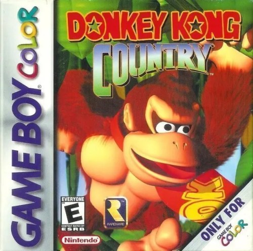 Donkey Kong Country for Nintendo Game Boy Color