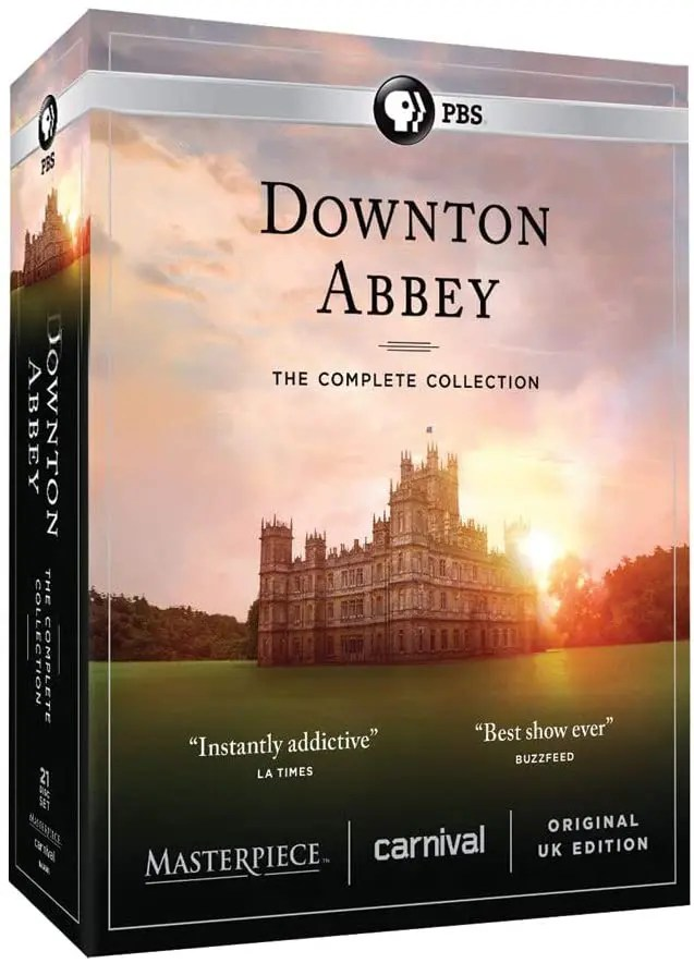 Downton Abbey: The Complete Collection DVD Box Set