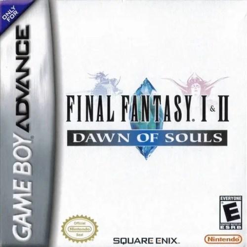 Final Fantasy I & II: Dawn of Souls for Nintendo Game Boy Advance