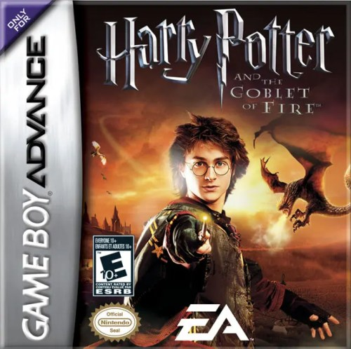 Harry Potter and the Goblet of Fire for Nintendo Game Boy Advance