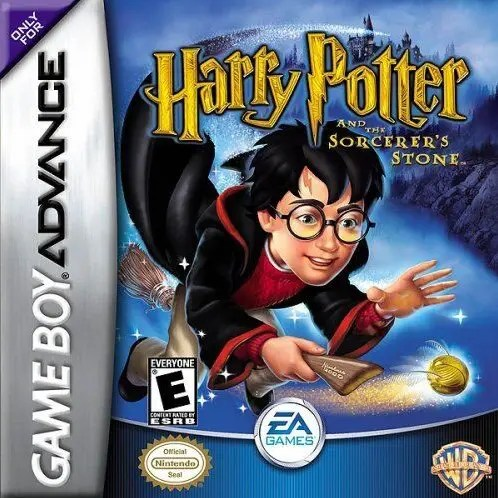 Harry Potter and the Sorcerer's Stone for Nintendo Game Boy Advance