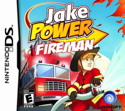 Jake Power: Fireman for Nintendo DS