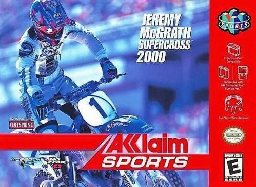 Jeremy McGrath Supercross 2000 for Nintendo 64