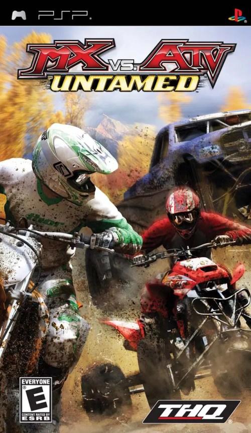 MX vs. ATV Untamed for PSP