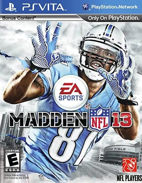 Madden NFL 13 for PS Vita