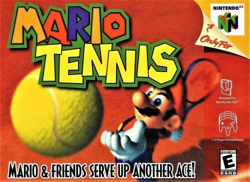 Mario Tennis for Nintendo 64