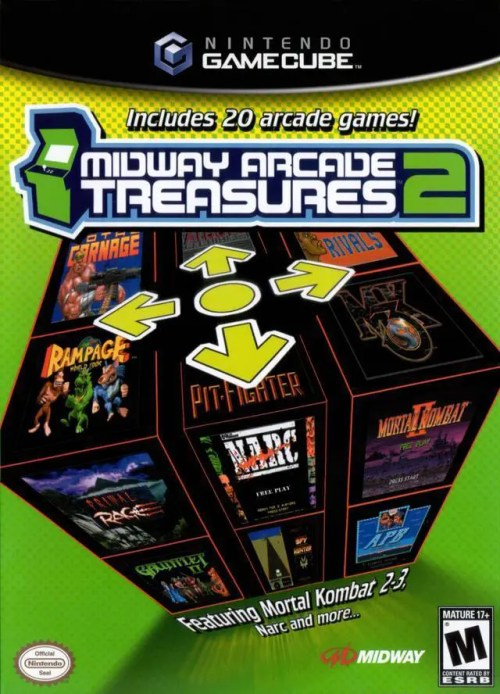 Midway Arcade Treasures 2 for Nintendo GameCube