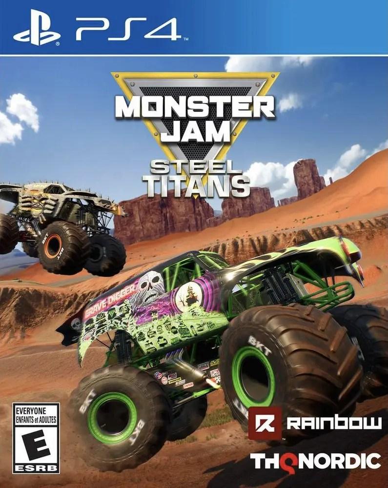 Monster Jam Steel Titans for PS4