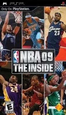 NBA 09: The Inside for PSP