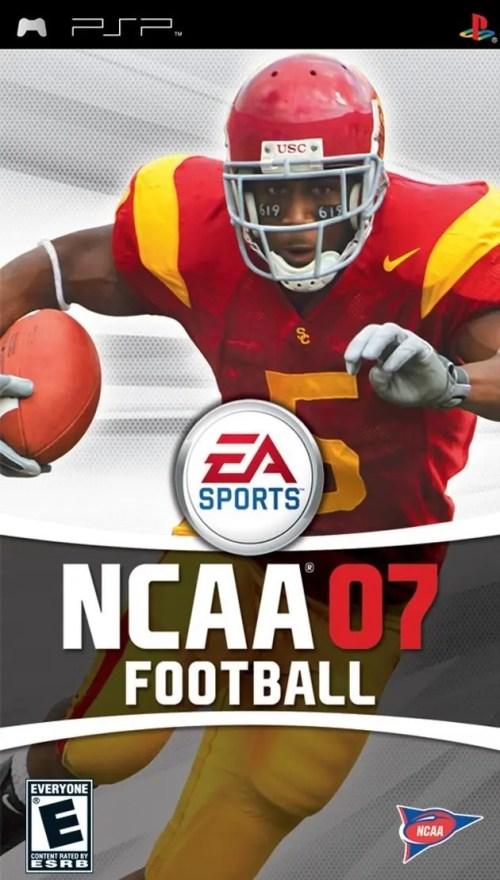 NCAA Football 07 for PSP