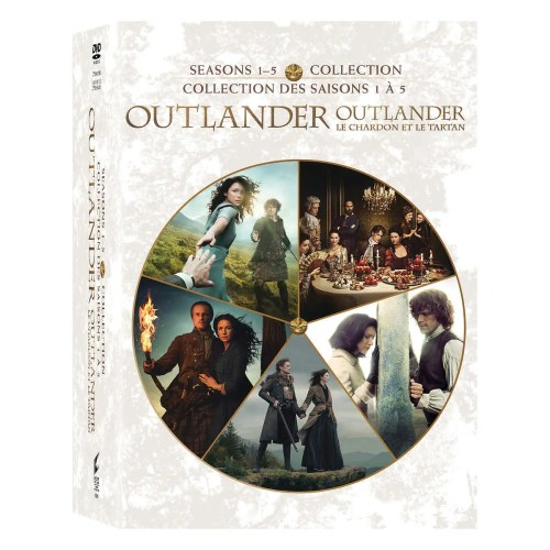 Outlander: Seasons 1-5 Collection DVD Box Set