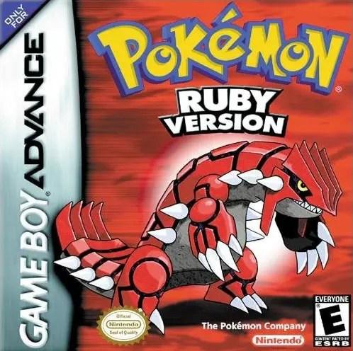 Pokémon Ruby Version for Nintendo Game Boy Advance