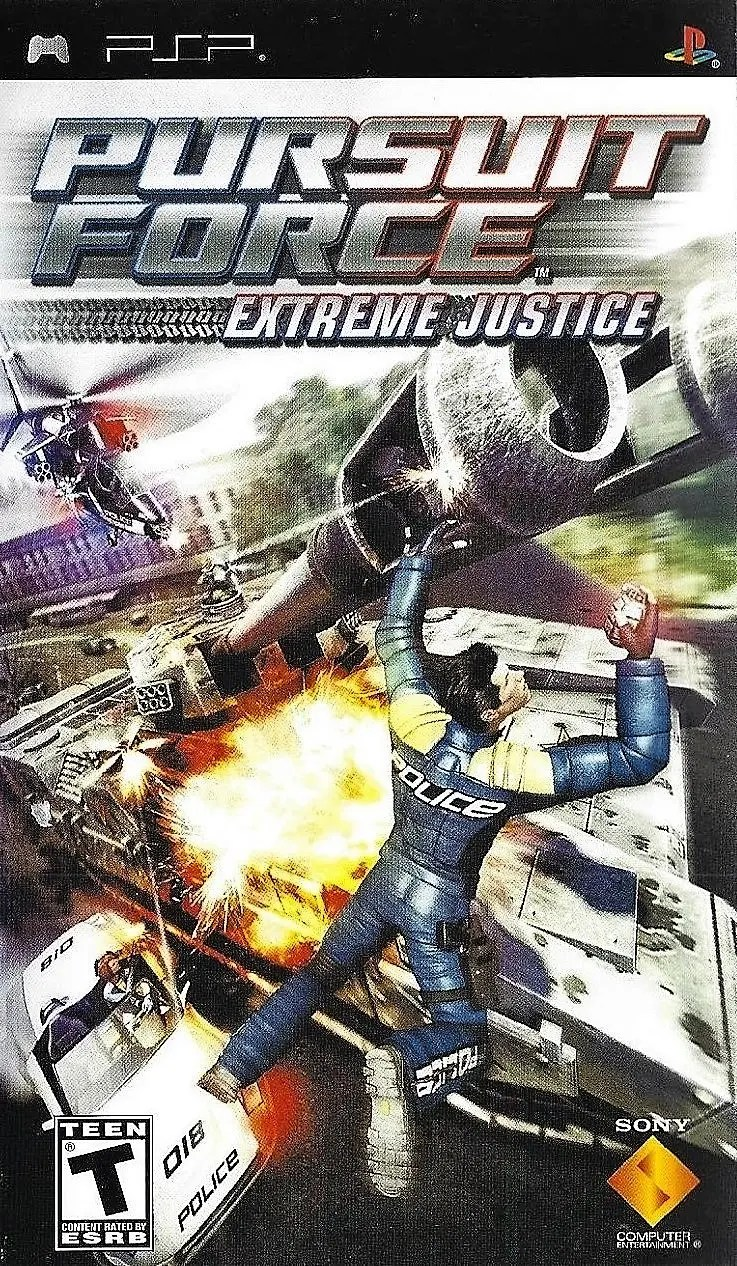 Pursuit Force: Extreme Justice for PSP