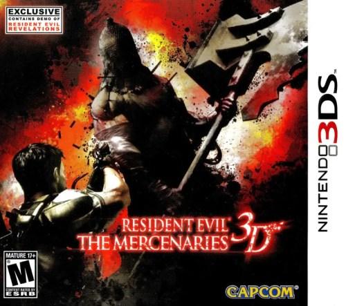 Resident Evil: The Mercenaries 3D for Nintendo 3DS