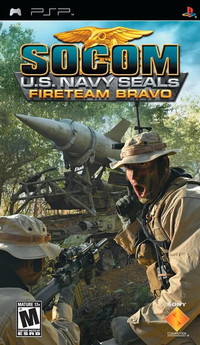 SOCOM U.S. Navy SEALs: Fireteam Bravo for PSP