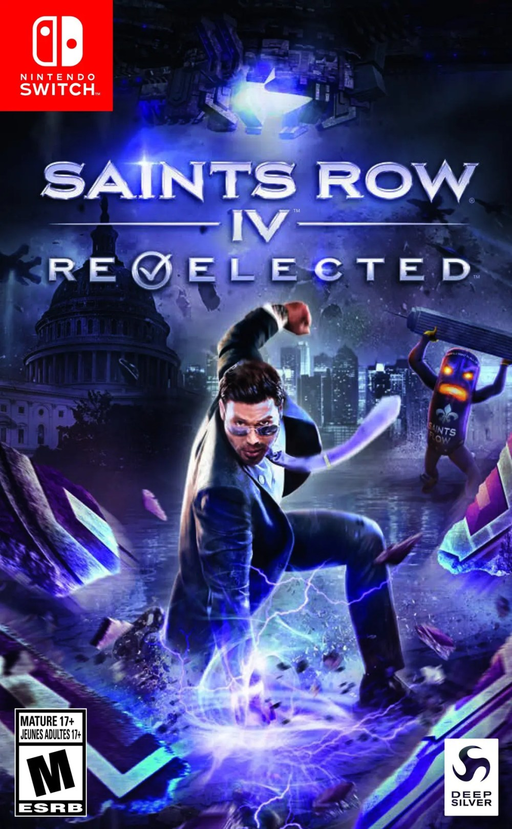 Saints Row IV: Re-Elected for Nintendo Switch