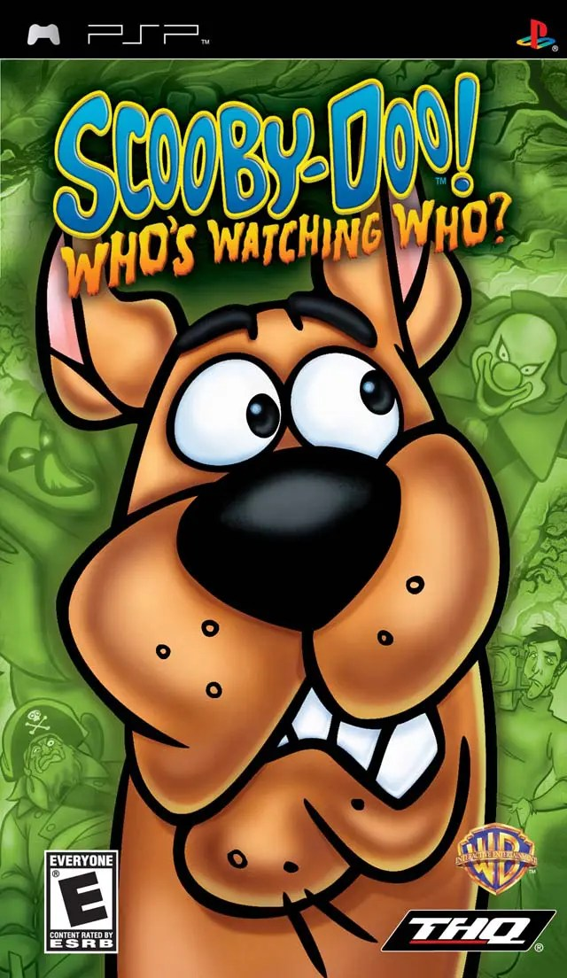 Scooby-Doo! Who's Watching Who? for PSP