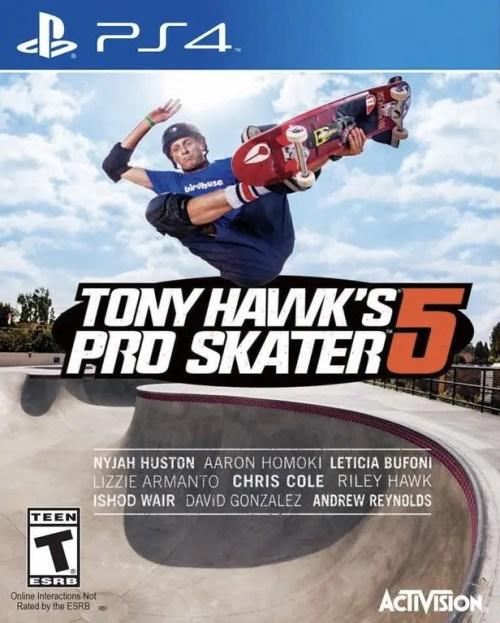 Tony Hawk's Pro Skater 5 for PS4