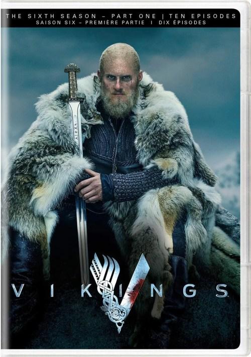 Vikings: The Sixth Season - Part One (Ten Episodes) DVD Box Set