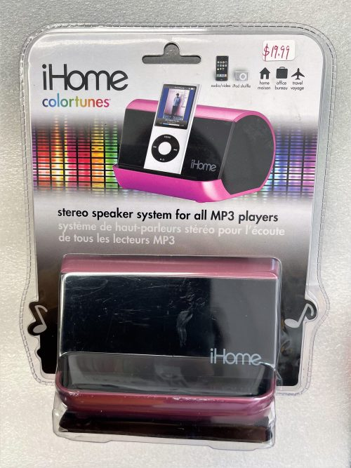 iHome Colortunes Stereo Speaker System (Pink)