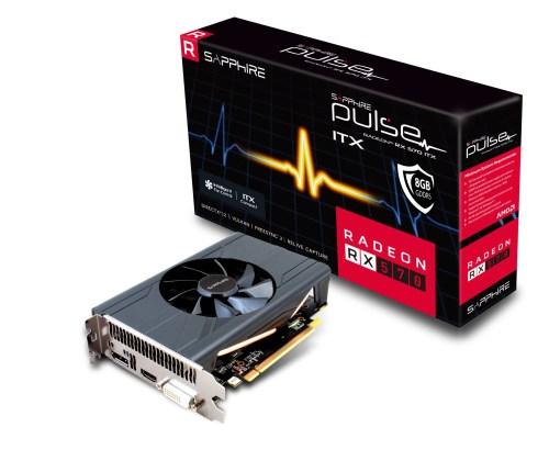 SAPPHIRE PULSE Radeon RX 570 ITX Graphics Card (11266-37-20G)