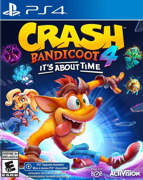 Crash Bandicoot 4: It's About Time for PS4
