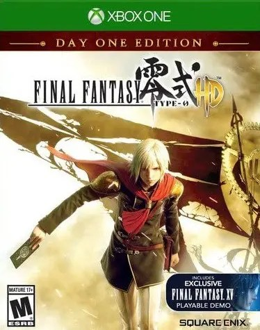 Final Fantasy Type-0 HD (Day One Edition) for Xbox One