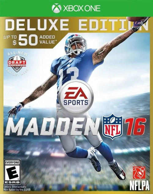 Madden NFL 16 (Deluxe Edition) for Xbox One